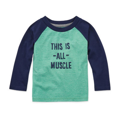 Okie Dokie Baby Boys Long Sleeve T-Shirt