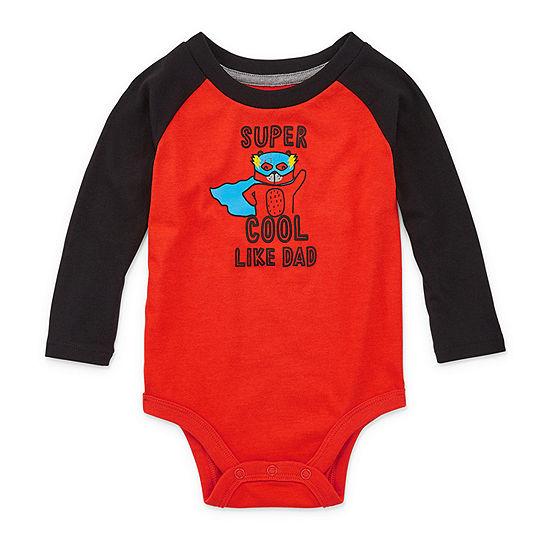 Okie Dokie Boys Bodysuit-Baby