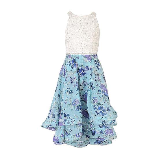 Speechless Girls Sleeveless Floral Maxi Dress - Big Kid