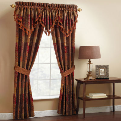 Croscill Classics Rod-Pocket Set of 2 Curtain Panel
