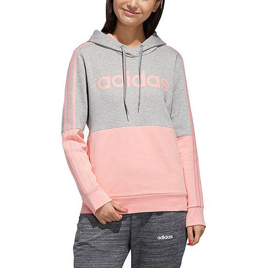 adidas Womens Hooded Neck Long Sleeve Hoodie