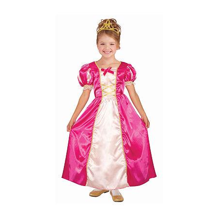 Girls Princess Cerise Costume Girls Costume, Medium , Multiple Colors