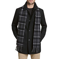 JCPenney deals on Dockers Wool Scarf Coat