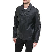 JCPenney deals on Dockers Faux Leather Midweight Bomber Jacket Mens