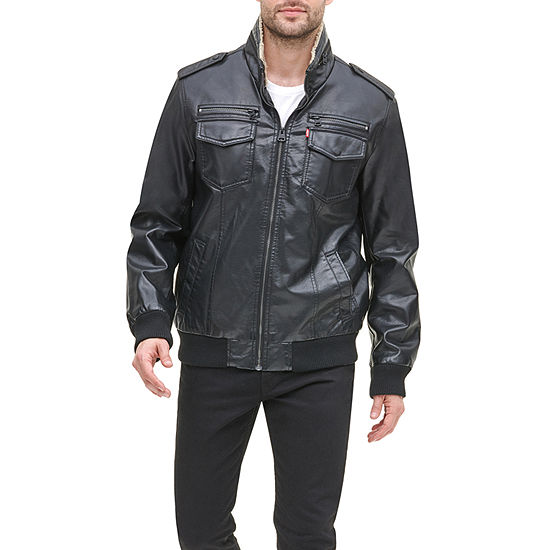 Levi's Faux Leather Midweight Bomber Jacket