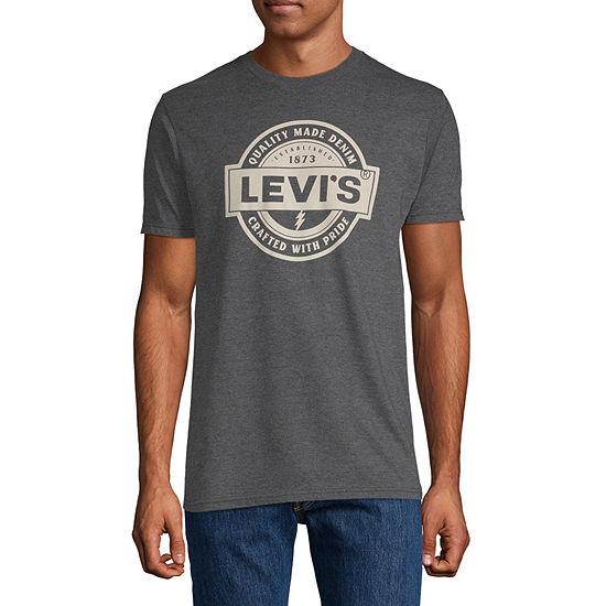 Levi's Men's Graphic Crew Neck Short Sleeve T-Shirt