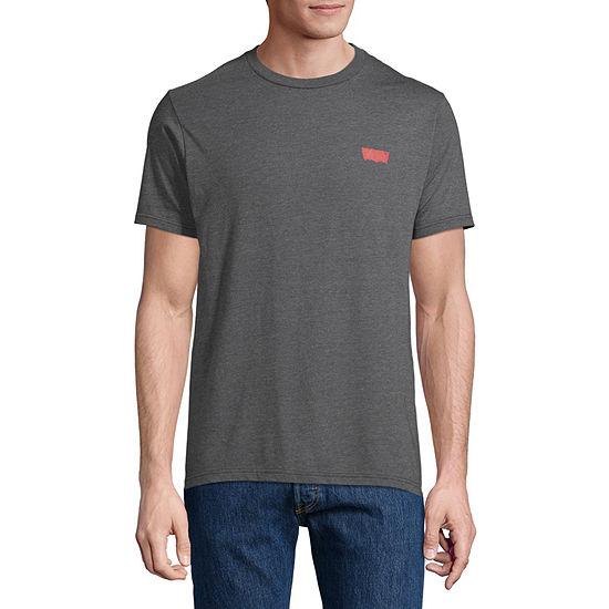 Levi's Men's Crew Neck Short Sleeve Graphic T-Shirt