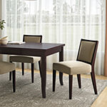O'Neil Armless Dining Chair Jutelike 2-Pack