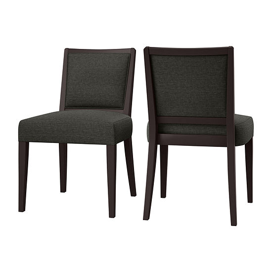 O'Neil Armless Dining Chair Woven 2-Pack