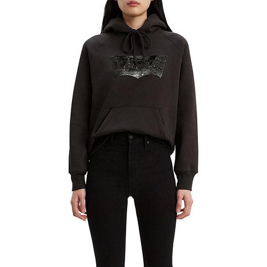 Levi's® Womens Long Sleeve Knit Hoodie
