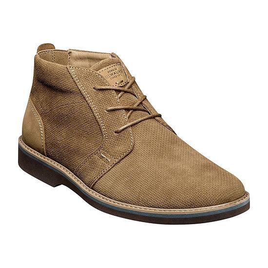 Nunn Bush Mens Barklay Flat Heel Chukka Boots