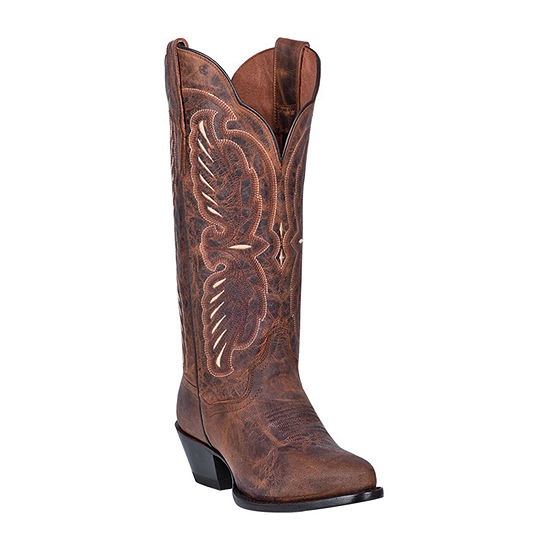 Dan Post Womens Tillie Block Heel Cowboy Boots