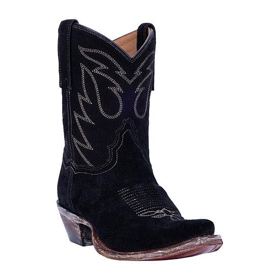 Dan Post Womens Standing Room Only Block Heel Cowboy Boots
