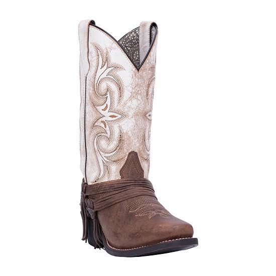 Laredo Womens Myra Block Heel Cowboy Boots