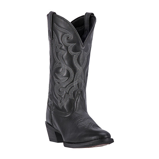Laredo Womens Maddie Block Heel Cowboy Boots