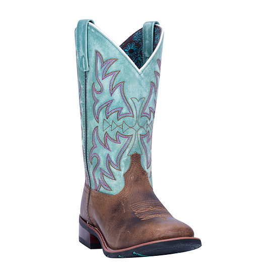 Laredo Womens Anita Block Heel Cowboy Boots