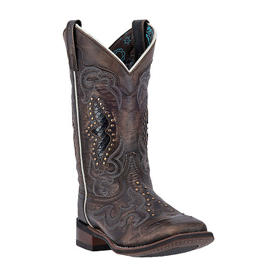 Laredo Womens Spellbound Block Heel Cowboy Boots