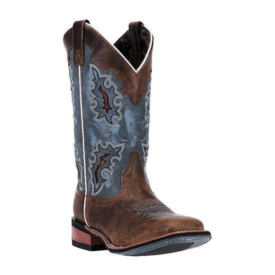 Laredo Womens Isla Block Heel Cowboy Boots