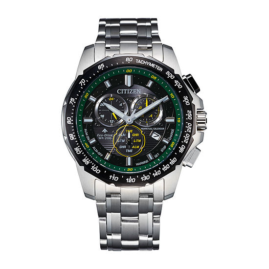 Citizen Mens Chronograph Two Tone Stainless Steel Bracelet Watch - Bl5578-51e