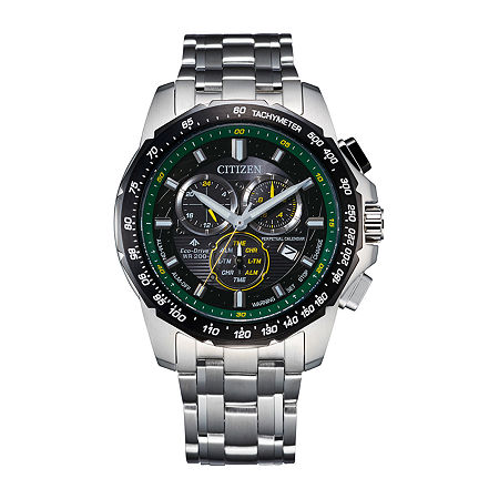 Citizen Mens Chronograph Two Tone Stainless Steel Bracelet Watch - Bl5578-51e, One Size