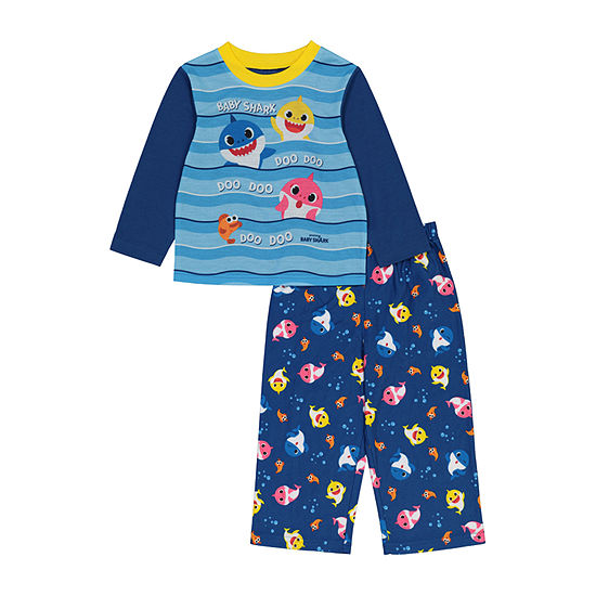 Toddler Boys 2-pc. Baby Shark Pant Pajama Set
