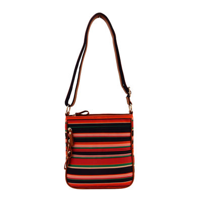 Bueno Nylon Zip Crossbody Bag