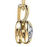Sirena®  T.W. Diamond 14K Yellow Gold Pendant Necklace