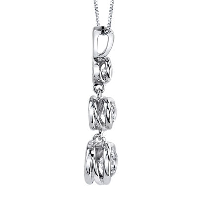 Sirena® 1/4 CT. T.W. Diamond 14K White Gold Pendant Necklace