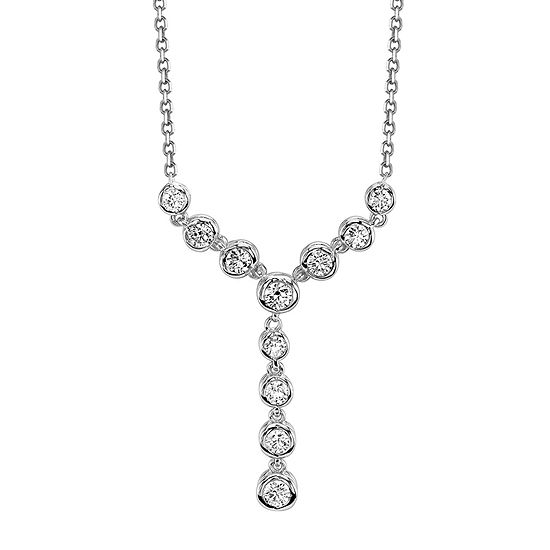 Sirena® 1/2 CT. T.W. Diamond 14K White Gold Necklace