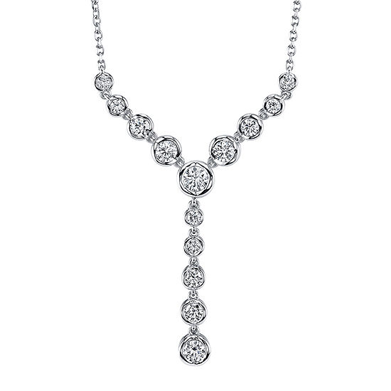 Sirena® 1 CT. T.W. Diamond 14K White Gold Necklace