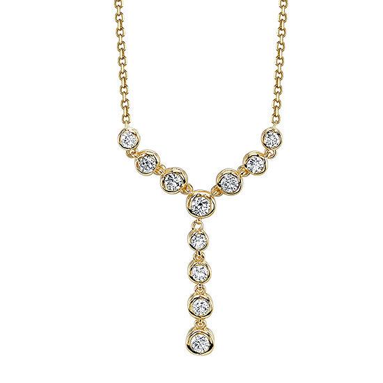Sirena® 1/2 CT. T.W. Diamond 14K Yellow Gold Necklace