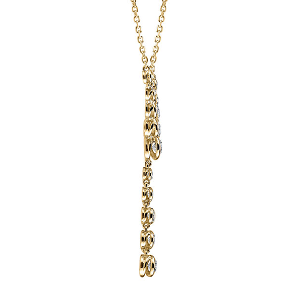 Sirena® 1 CT. T.W. Diamond 14K Yellow Gold Necklace