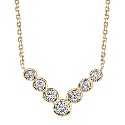 Sirena® Diamond 14K Yellow Gold Necklace