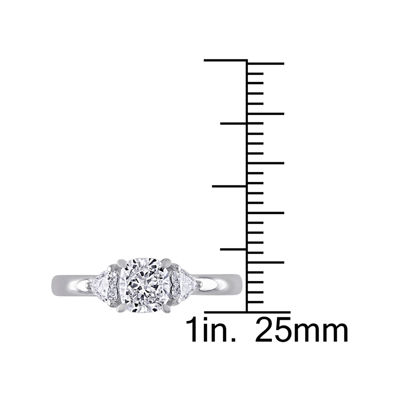 1 CT. T.W. Diamond 14K White Gold Engagement Ring