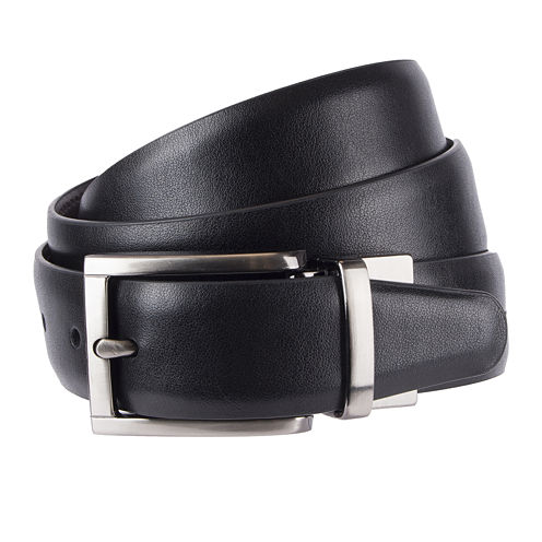 Stafford® Reversible Feather-Edge Belt - Big & Tall