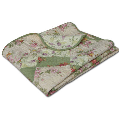 Greenland Home Fashionis Bliss Quilted Cotton Throw