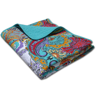 Greenland Home Fashions Nirvana Quilted Cotton Throw