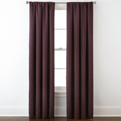 Studio™ Luna Rod-Pocket Blackout-Lined Curtain Panel
