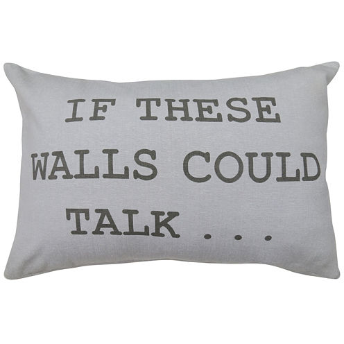 Park B. Smith® If Walls Could Talk Decorative Pillow