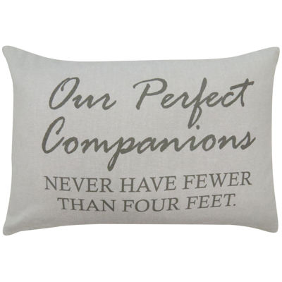 Park B. Smith® Our Perfect Companions Feather Decorative Pillow