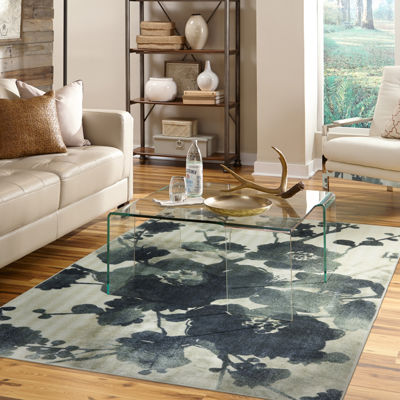 Mohawk Home® Stream Of Blues Water Rectangular Rug