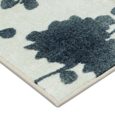 Mohawk Home® Stream Of Blues Water Rectangular Rug