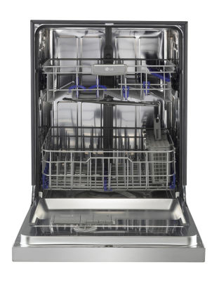 LG Front Control Dishwasher with Flexible EasyRack™ Plus System