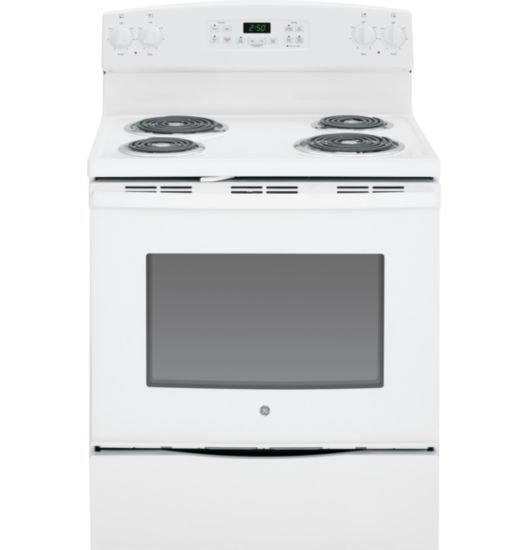 "GE® 30"" 5.3 cu ft Free-Standing Electric Range"