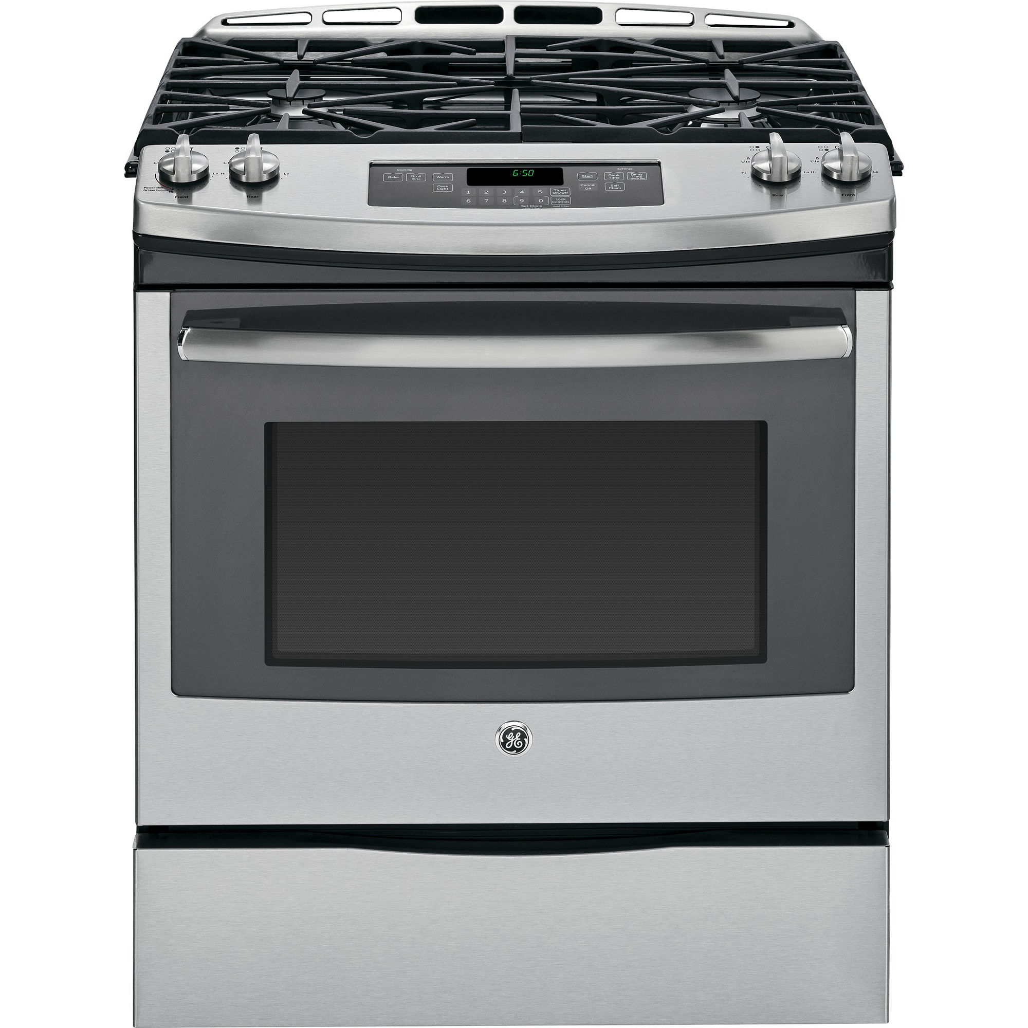 "GE 30"" 5.6 Slide-In Gas Range - JGS650SEFSS"