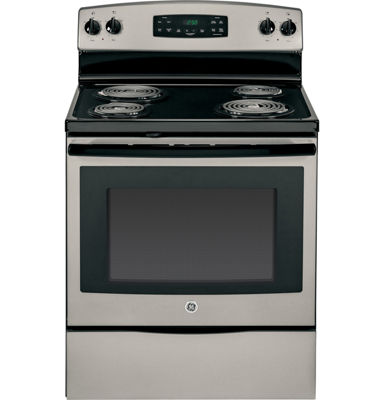 "GE® 30"" 5.3 Cu. Ft. Free-Standing Electric Range"