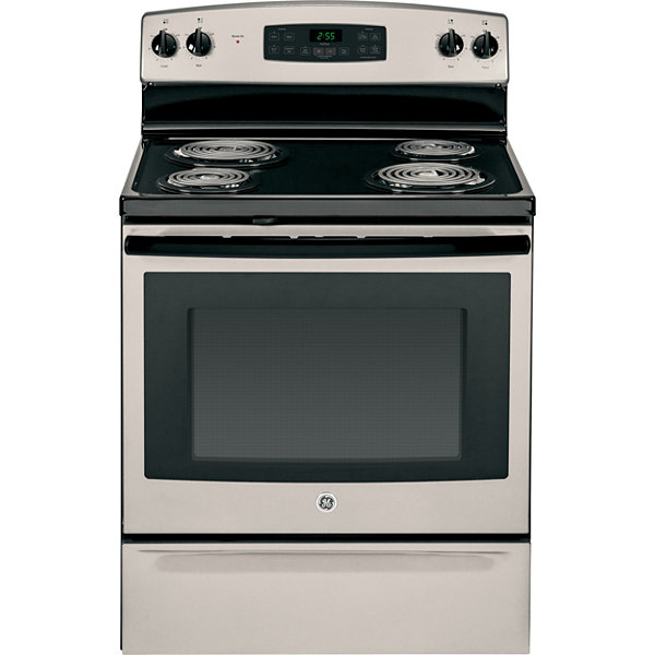 "GE® 30"" 5.0 Cu. Ft. Free-Standing Electric Range"