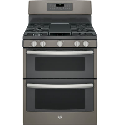 "GE® 30"" Free-Standing Double Oven Gas Range with Convection"