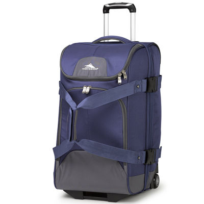 "High Sierra® Prime Access 3.5 26"" Drop-Bottom Rolling Duffel with Carry Straps"