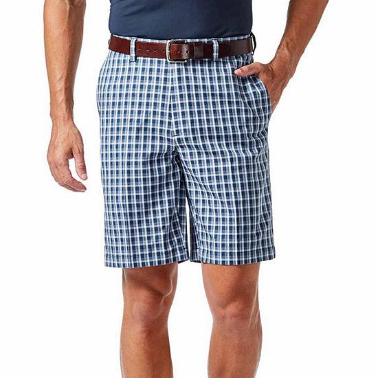Haggar® Cool 18® Pro Pattern Classic Fit Flat Front Short